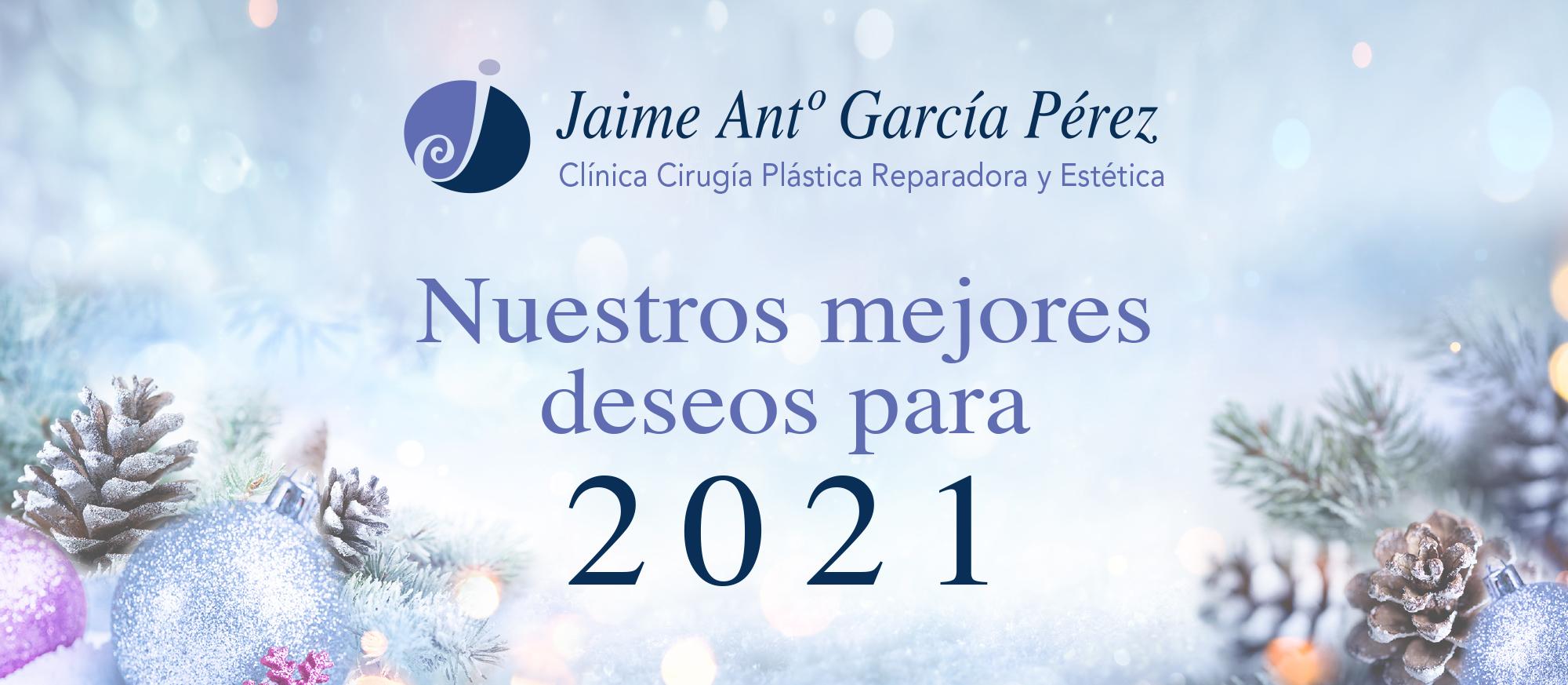 Doctor Jaime García: Os deseo toda la felicidad y salud para poder disfrutar estos días con vuestra familia y seres queridos.